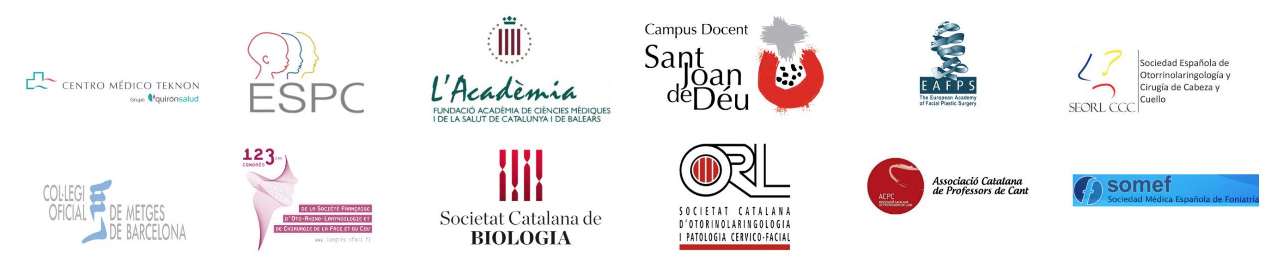 Clínica Rinològica Maria Colomé - Logotips col·laboradors